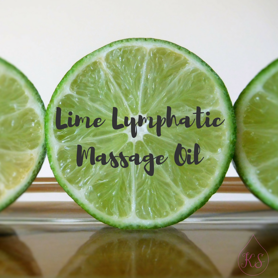 Lime Lymphatic Massage Oil