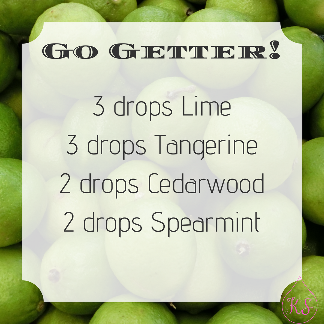 Go Getter Essential Oil Diffuser Blend
